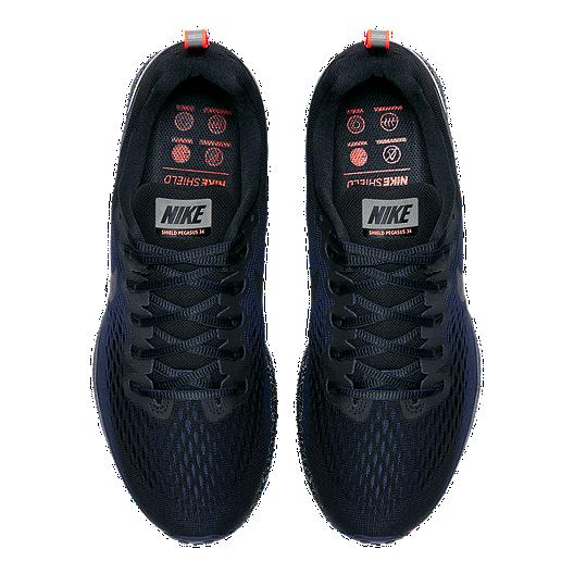 Empeorando desierto envase  Nike Men's Pegasus 34 Shield Running Shoes - Black   Sport Chek
