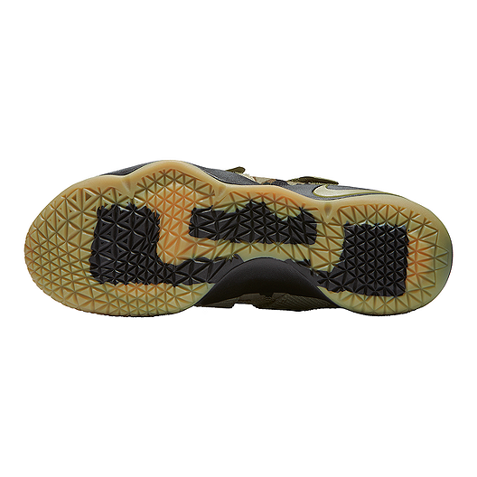 pretty nice 44681 4b236 Nike Men's LeBron Soldier XI Basketball Shoes - Olive Green ...