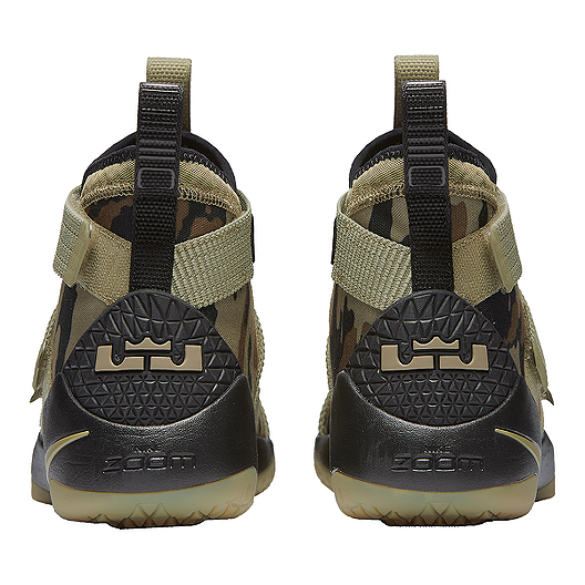pretty nice c051f a5087 Nike Men's LeBron Soldier XI Basketball Shoes - Olive Green ...