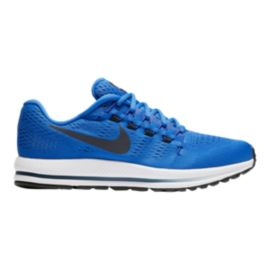 Nike Men's Air Zoom Vomero 12 Running Shoes - Blue/Black/White