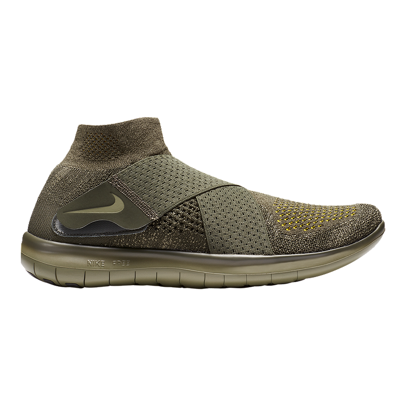 on sale caa80 2cefe Nike Men s Free RN Motion Flyknit 2017 Running Shoes - Olive Green   Sport  Chek
