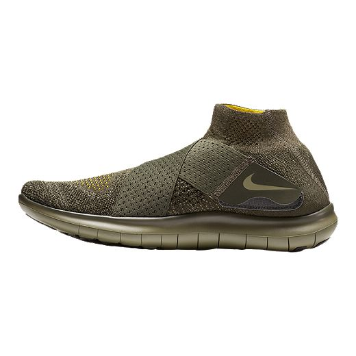Por Nominación rodear  Nike Men's Free RN Motion Flyknit 2017 Running Shoes - Olive Green | Sport  Chek