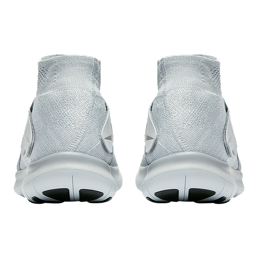 Nike Men's Free RN Motion Flyknit 2017 Running Shoes Grey