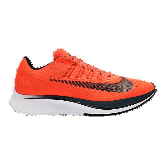 186fee040f85 Nike Men s Zoom Fly Running Shoes - Crimson Orange Black White ...