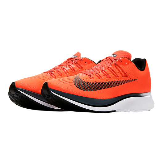 92fbf8ff61dd3 Nike Men s Zoom Fly Running Shoes - Crimson Orange Black White. (0). View  Description