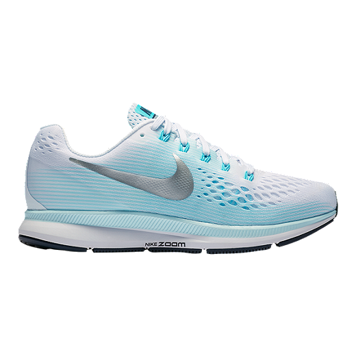huge discount 44be8 e6f32 Nike Women's Air Zoom Pegasus 34 Running Shoes - White ...