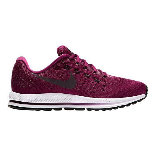 sports shoes 779e3 32cc8 Nike Women s Air Zoom Vomero 12 Running Shoes - Berry Wine Red White    Sport Chek