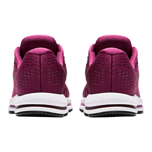 06b722ff5a0 Nike Women s Air Zoom Vomero 12 Running Shoes - Berry Wine Red White. (1).  View Description