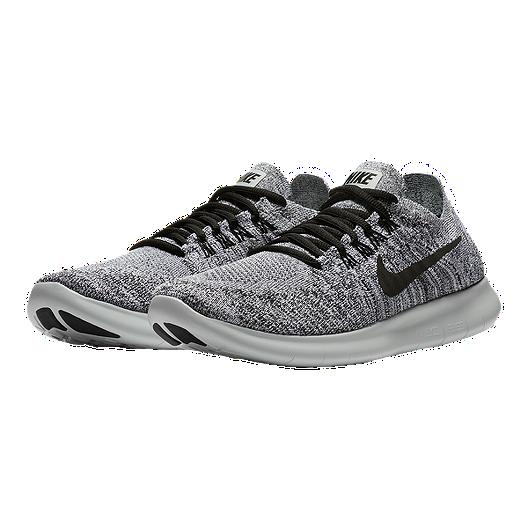 30e2fce002c0ed Nike Women s Free RN Flyknit 2017 Running Shoes - White Black Silver. (1).  View Description