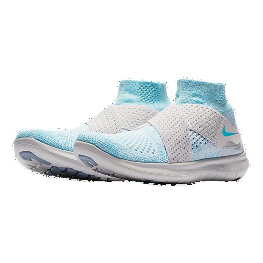 07cc13480c40 Nike Women s Free RN Motion Flyknit 2017 Running Shoes - Blue Platinum.  (0). View Description