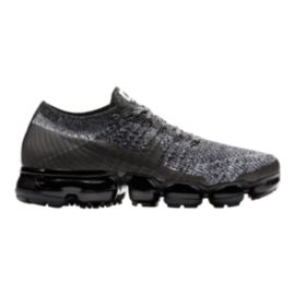 Nike Women's Air VaporMax Flyknit Running Shoes - Black/White/Racer Blue