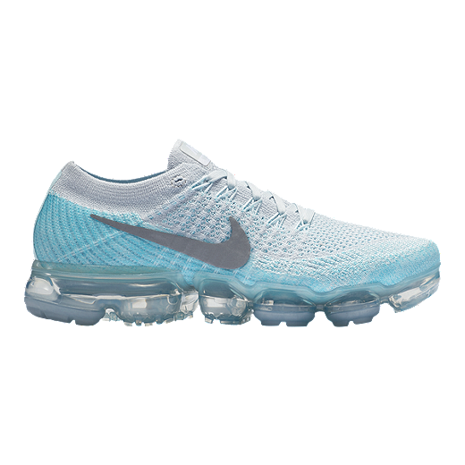 sports shoes c1526 61bf7 Nike Women's Air VaporMax Flyknit Running Shoes - Platinum ...