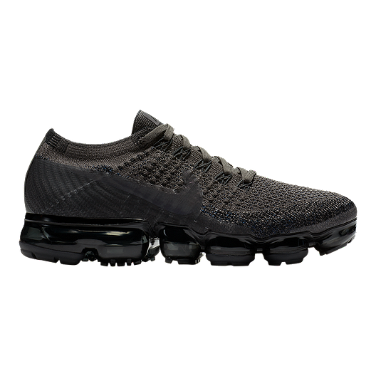 save off bd025 a09b4 Nike Women's Air VaporMax Flyknit Running Shoes - Black Fog ...