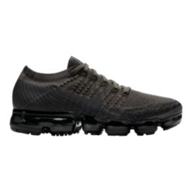 Nike Women's Air VaporMax Flyknit Running Shoes - Black Fog