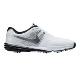 Nike Men's Lunar Command Golf Shoes - White/Grey
