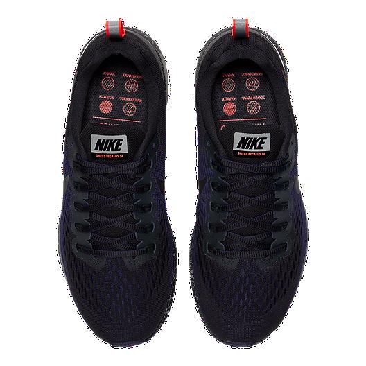 5c5d8c9300e1 Nike Women s Air Zoom Pegasus 34 Shield Running Shoes - Black. (0). View  Description