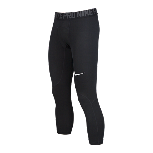 d6a22f18fc5bf Nike Pro Men's Cool 3/4 Tights - BLACK/ANTHRACITE