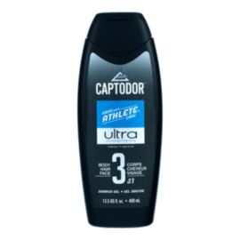 CAPTODOR 3-IN-1 SHOWER GEL 400 ML- ULTRA
