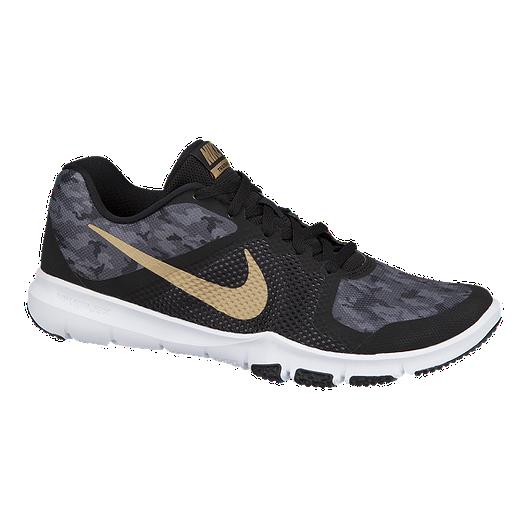 c3826f2c931a Nike Men s Flex Train Control Training Shoes - Black Metallic Gold ...