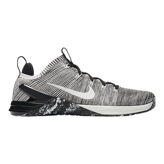d8c5b3cba31f Nike Men s Metcon DSX Flyknit 2 Training Shoes - Silver White Black ...