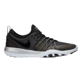 timeless design a6203 4c6ff Nike Womens Free TR 7 Metallic Training Shoes - BlackPlatinum