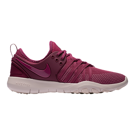 2bc5f1e725f1e Nike Women s Free TR 7 Training Shoes - Berry Red