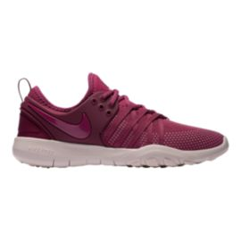Nike Women's Free TR 7 Training Shoes - Berry/Red