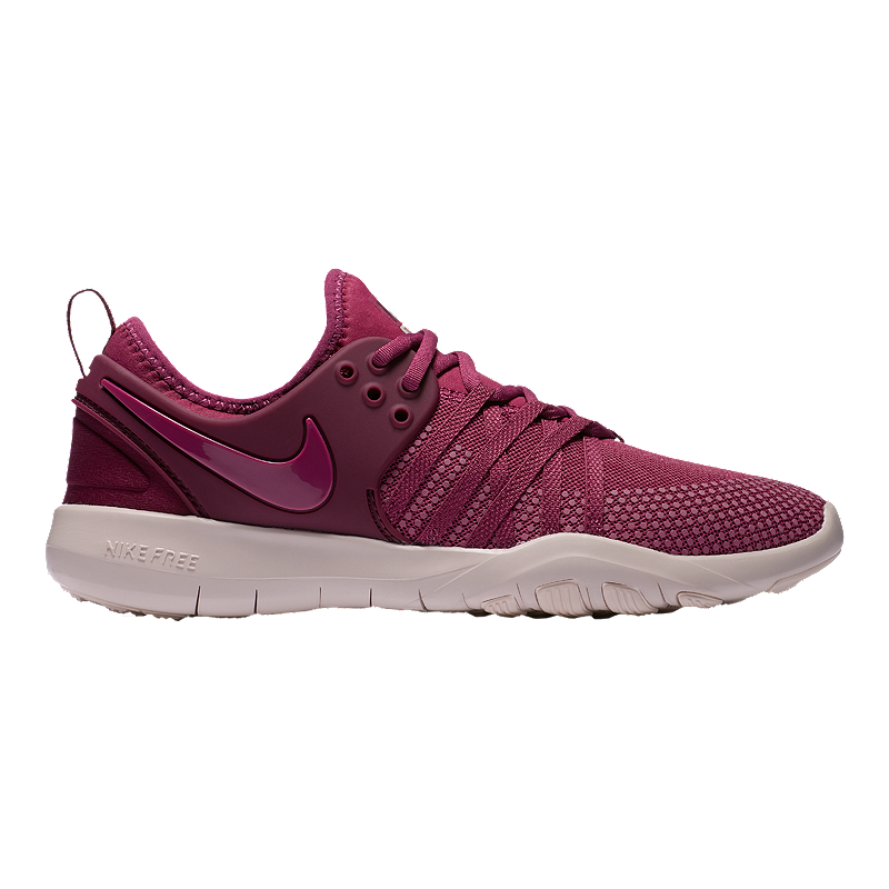 796bd10675ac Nike Women s Free TR 7 Training Shoes - Berry Red