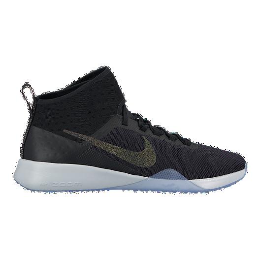 53d9370b84a7 Nike Women s Air Zoom Strong 2 Metallic Training Shoes - Black Multi ...