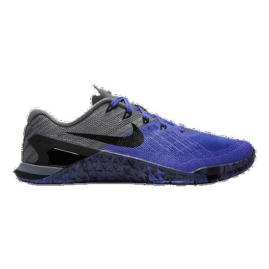 f873e21410def Nike Women's Metcon 3 Training Shoes - Violet/Black/Grey | Sport Chek