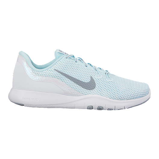 019405d33b3fc Nike Women s Flex TR 7 Reflect Training Shoes - Glacier Blue White ...