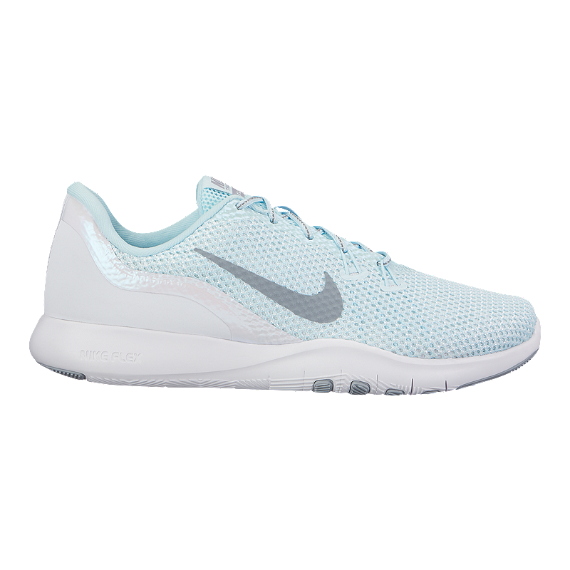 detailed look 0ab36 26d40 Nike Women s Flex TR 7 Reflect Training Shoes - Glacier Blue White   Sport  Chek
