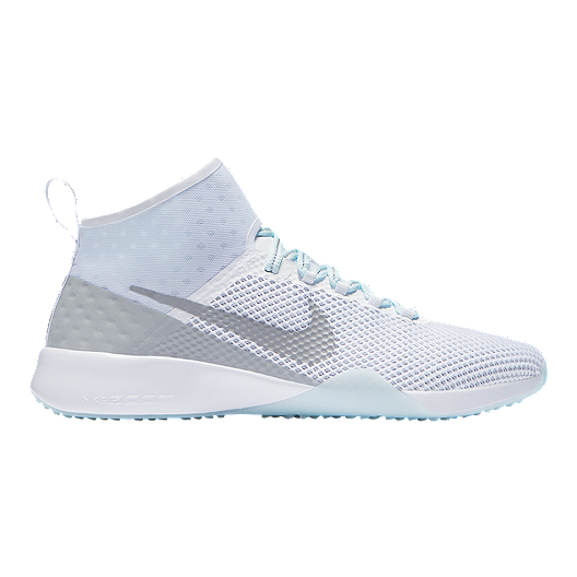 01309d36331 Nike Women s Air Zoom Strong 2 Reflect Training Shoes - White Silver ...