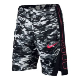 Nike Dry Girls' Elite Print Basketball Shorts