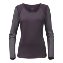 The North Face Mountain Athletics Women's Motivation Long Sleeve Shirt - Eggplant Purple