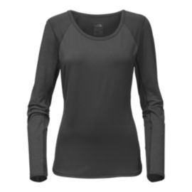 The North Face Mountain Athletics Women's Motivation Long Sleeve Shirt - Dark Grey