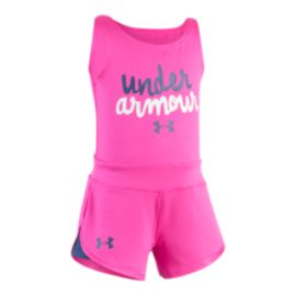 Under Armour Baby Girls' Primo Romper