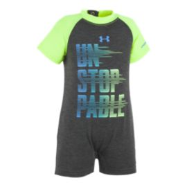 Under Armour Baby Boys' Unstoppable Shortall Onezie
