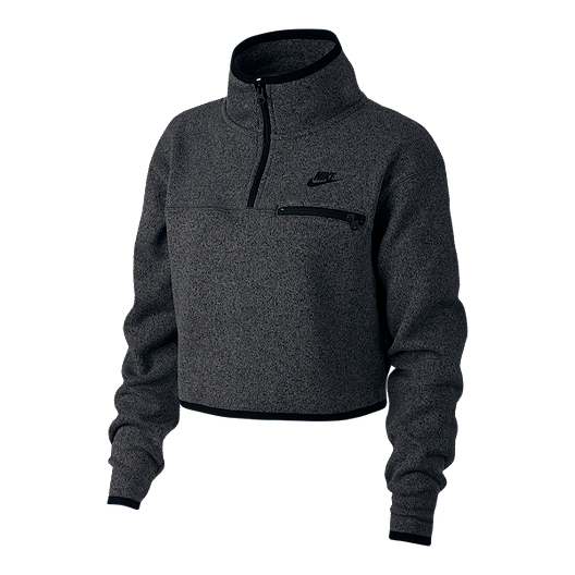 cc51ffdf4670 Nike Sportswear Women s Summit Fleece Crop Long Sleeve
