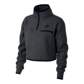 Nike Sportswear Women's Summit Fleece Crop Long Sleeve