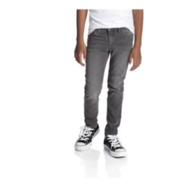 Gravity Boys' Slim Fit Jeans - Charcoal