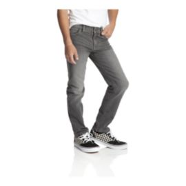 Gravity Boys' Relaxed Fit Jeans - Charcoal