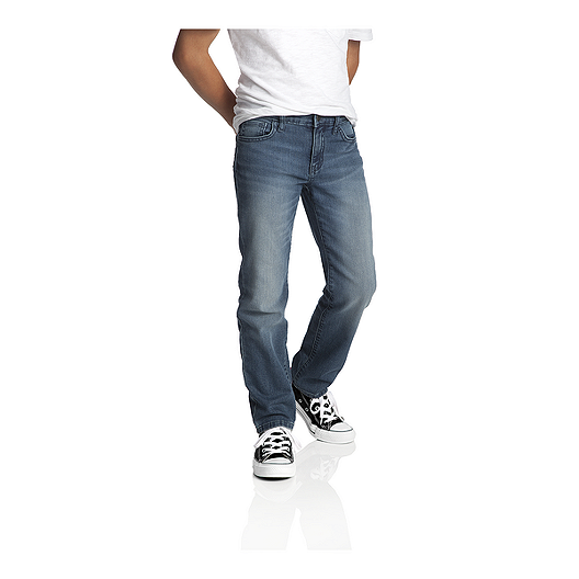 Gravity Boys' Relaxed Fit Jeans - Washed Blue   Sport Chek