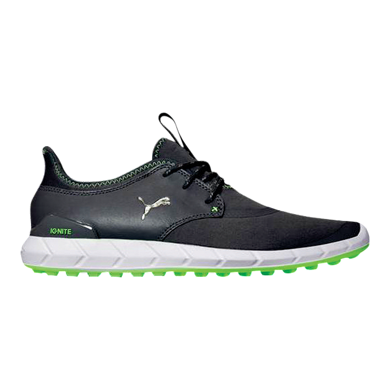 c5f551011aa6ee PUMA Men s Ignite Spikeless Sport Golf Shoes - Silver Lime