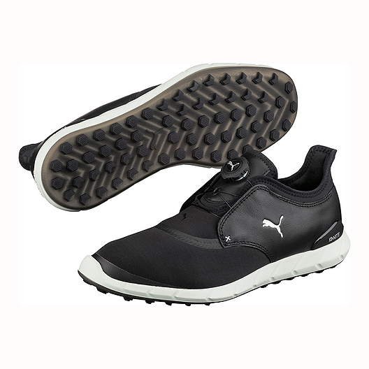 big selection of 2019 exceptional range of styles save up to 80% PUMA Men's Ignite Spikeless Sport Disc Golf Shoes - Black/Silver
