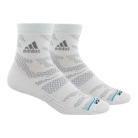 adidas Men's Tiger Style High Quarter Socks 2 Pack