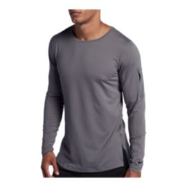 Nike Men's Utility Fitted Long Sleeve Training Shirt