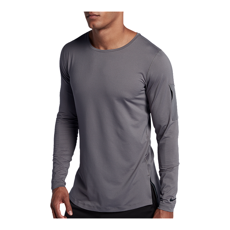 Nike Men s Utility Fitted Long Sleeve Training Shirt  c11be8a8a