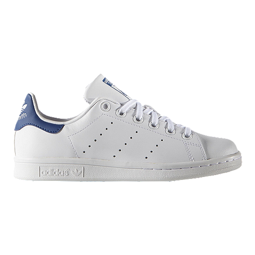 official photos ca54b bf09d adidas Kids' Stan Smith Grade School Shoes - White/Blue ...