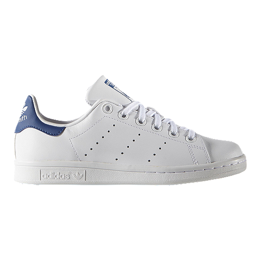 sale retailer b5245 ff251 adidas Kids' Stan Smith Grade School Shoes - White/Blue
